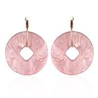 Wholesale 2016 new elegant noble blue flower ladies gold plated rhinestone earrings piercing Brinco women E20