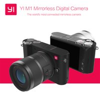 Wholesale International Version Original YI M1 Mirrorless Digital Camera With YI mm F3 Lens mm F1 Lens