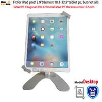 1piece/Lot asus tablet desktop - Universal desktop Tablet Holder for inch tablet pc stand security holder fit for ipad pro Surface samsung Tab Asus desktop