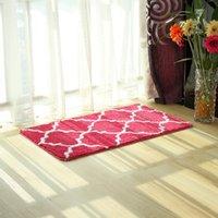 antibacterial bath mat - New Arrival Soft Microfiber Water Absorbent Non slip Antibacterial Rubber Bath Rug Kitchen Floor Mats Doormat Bedroom Parlor Carpets