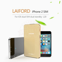 Wholesale Bluetooth No Jailbreak Dual Sim Dual Standby Extend SIM Adapter for iOS L20 LAIFORD GoodTalk S For iPhone iPod th
