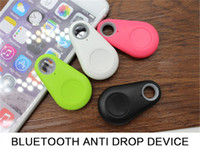 Wholesale Bluetooth Itag Tracker Bags Pet Kids GPS Locator Alarm Itag Smart Finder Anti Lost Reminder Remote control shutter for iPhone Android