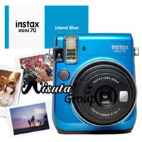 Venta al por mayor-Fujifilm Fuji Mini 70 Cámara Instax Mini 70 cámaras instantáneas Foto Cámara Azul Amarillo Rojo Oro Color Disponible