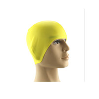 Wholesale Adult Pure Color Silicone Swimming Cap Spa Swimming Cap for Waterproof
