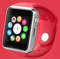 al por mayor tarjeta qq-Goofón i7 A1 tarjeta de reloj inteligente teléfono Bluetooth teléfono móvil de apoyo QQ WeChat comercio exterior ventas smartphone cubot