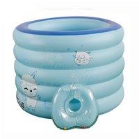bath tub size - New Summer Inflatable Pools PVC Piscina Piscine Children Swimming Pools Adult Bath Tub Color Blue Size cm