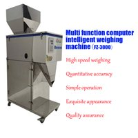 automatic powder filler - pc New Coffee Powder rice and nuts automatic weighing machine auto granules filler with g