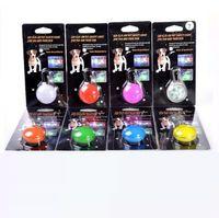 Wholesale LED light pet dog pendant Safety Tag flashing dog cat pendant color free shiping pc h110