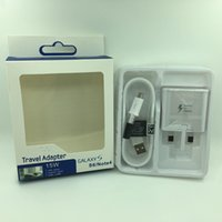 Wholesale Samsung in Kit Fast Charger Set V EU US UK Plug USB Wall Home Travel Fast Quick Charging Adapter for Samsung note s6 s7 Edge