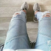 Cheap Destroyed Skinny Jeans | Free Shipping Destroyed Skinny ...