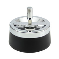 Wholesale New Products With cover Windproof stainless steel ashtrays Car Ashtrays Smoking Accessories