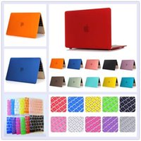 No Zipper Unisex Casual Rubberized Hard Tablet PC Case Shell + Keyboard Cover for Macbook Pro 13 15 Retina 12 13 Air 11.6 13.3