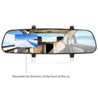 Wholesale New P HD M08 Car DVR Rearview Mirror LCD DVR Car camera Dash Cam Video Recorder Rearview Mirror V A hot