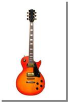 Wholesale top quality custom Maple top supreme LP Electric Guitar golden hardware