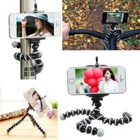 al por mayor soporte de la cámara iphone-Universal Octopus MINI Trípode Soporte Flexible Gorillapod Trípodes Stander para GoPro Cámara Teléfono para Android Trípode Soporte con Soporte