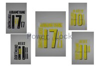 Wholesale Power lock German Bundesliga Home Away AUBMEYANG REUS M GOTZE heat transfer FT0043