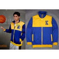 basketball warm up jacket - Anime SLAM DUNK Kainan High School Basketball Team Cosplay Costume Warm up Jacket Coat Sports Wear Team Uniform Size M L XL XXL