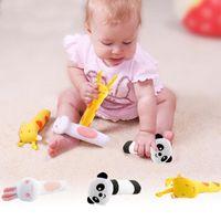 bibi kids - Colorful New Animal Developmental Stuffed Infant Baby Plush Toy Rattle Kids Children toy Baby BIBI Monkey