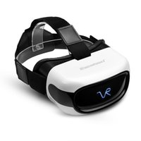 Wholesale Excelvan A5026 All in One HD D VR Virtual Reality Headset Glasses Video Movie Player with Android System Headphone TF Card GB Support