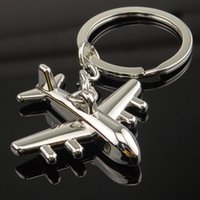 aviation jewelry - Civil aviation aircraft key e plane chicken key chain in high quality jewelry products can be customized