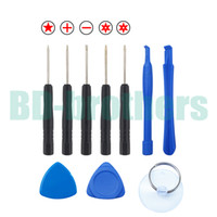 Wholesale 10 in Opening Tools Kit Pry Repair Tool With Screwdriver for iPhone Samsung Galaxy S4 sets