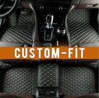Seat Cushion ats weather - Custom fit car floor mats for Cadillac ATS CTS XTS SRX Escalade D car styling all weather carpet floor liner
