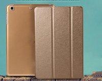Wholesale Suitable for ipad5 protective sleeve air2 silk pattern conjoined intelligent dormancy mini3 thin leather