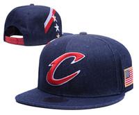 Wholesale Cleveland Adjustable Cavaliers Snapback Hat Thousands Snap Back Hat For Men Basketball Cap Cheap Hat Adjustable men women Baseball Cap