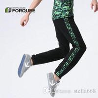 Wholesale Summer New Fitness Pants Harem sport Pants Feet Pants men Hip Hop Dance Sweatpants m xl T289