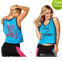 basic vest tops - new yoga clothes vest basic shirt sports dance fitness top Women s fashion vest Sports vest