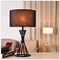 Wholesale New Living Lamp Bedroom Bedside Lamp W Bulb Fabric Lighting Outdoor LED Light Bulbs