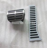 Wholesale Car Stainless steel Gas Brake Pedal ATpedals For RHD VW GOLFMK5 MK6 Jetta PASSAT sciroccoTOURAN