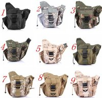 Unisex best camera backpack for hiking - Best Quality Army Tactical Backpack Oxford Camouflage Waist bag For Outdoor Casual Camping Traveling Hiking Trekking Cross Camera Bags