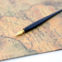 Wholesale South Korea Scratch Night View Scraping Painting Pen World Scenic Postcard Scraping Brush