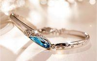 austrian crystal cuff bracelet - High grade glass shoes bracelet New female han edition foreign trade fashion jewelry Austrian crystal bracelet