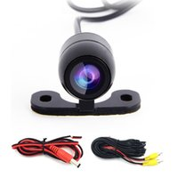 Wholesale Car Rear view Camera Universal Parking Camera HD Color Night Vision Reverse Backup Drive CCD Camera with Wide view Angle