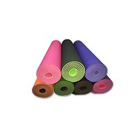 Wholesale 2016 New mm Double TPE Yoga Mat Sale For Fitness Gymnastic Pad Sports Exercise Mat For Fitness And Yoga Carpet Gym Mats