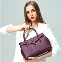 Wholesale Genuine Leather Handbag Women Bag Fashion Brand Designer Cowhide Women Real Leather Women Crossbody Bag L5012