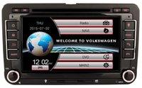 7 pulgadas 2 Din coche reproductor de dvd gps para VW Passat cc Golf 5 6 Tiguan Touran EOS Jetta Caddy Sharan