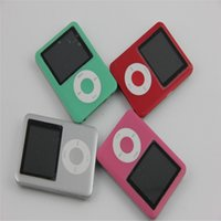 Wholesale MP3 MP4 Player Slim quot LCD E Book FM th MP4 Player brand earphone USB manual use