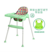 Wholesale New Cheap Foldable Baby Chair Desk Dining Chair With Plate Infant High Table Multifunctional Chairs Feeding Kids Dining Chair