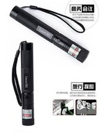 Wholesale car by DHL or EMS pieces mw green laser pointer flashlight