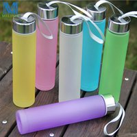 Wholesale Creative Candy Color Women s Water Cup ML Cute Mini Soda Bottles Unbreakable Kettle Portable Sports Water Bottle BPA FREE
