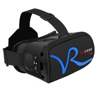 Wholesale All IN ONE VR Glasses VR CASE RKA1 Head Strap VR Virtual Reality google cardboard HeadMount For Smart Phone