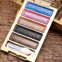 Wholesale Diamond EyeShadow Bright Colorful Makeup Eye Shadow Super Make Up Set Flash Glitter Eye shadow Palette XL M104