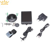 Wholesale mAH W Waterproof Solar Panel Charger for HT Series Hunting Camera