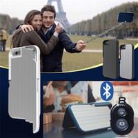 aluminum bluetooth cases - 3 in Selfie Stick Phone Case for iPhone S plus plus Cases Multifunction Foldable Aluminum Phone Cover Bluetooth Remote Shutter