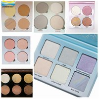 Wholesale Makeup Bronzers Face Highlighting Powder Palette Cosmetic Makeup Kit Highlighter DHL