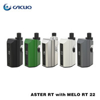 Eleaf Aster RT con Melo RT 22 Kit 4400mAh Mod y 3.8ml Tanque Hasta 100w OutPut 100% Original
