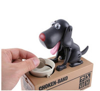 automatic bank - Piece Safe Hucha Dog Money Box Money Bank Automatic Stole Coin Piggy Bank Money Saving Box Moneybox Gifts for kid